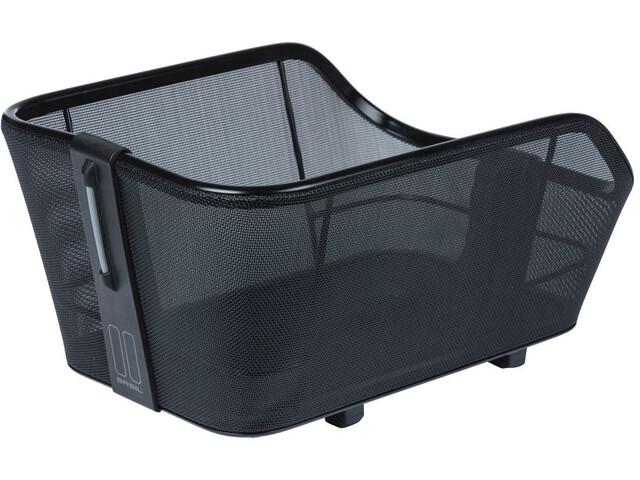Basil Cento Tech Fiber Bicycle Basket WSL, solid black